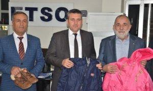 Elbistan'da bin 200 öğrenciye kışlık kıyafet yardımı yapıldı