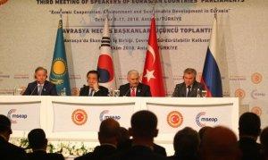 Avrasya Meclis Başkanları toplantısı bitti