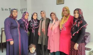 Pazarcık'ta iki diplomalı kadın muhtar adayı oldu