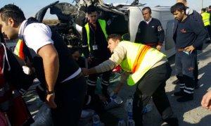 Atatürk Havalimanı'nda kaza: 9 yaralı