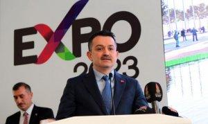 """Bakan Pakdemirli: """"EXPO 2023 Kahramanmaraş'a saygınlık kazandıracak"""""""