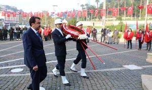 Kahramanmaraş'ta Atatürk'ü anma töreni düzenlendi