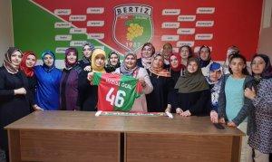 Milletvekili Öçal Bertizspor'u ziyaret etti