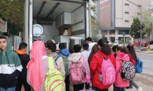 Pazarcık Belediyesi Çocukların İçini Isıtacak