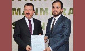 Mustafa Buluntu Büyükşehir'e aday oldu