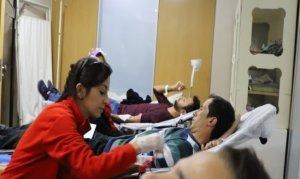 AKEDAŞ personelleri Kızılay'a kan bağışladı
