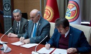 Manas Üniversitesi İle İşbirliği Protokolü İmzaladı