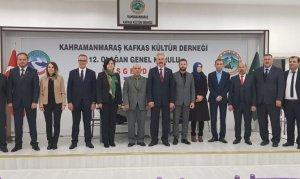 Kahramanmaraş Kafkas Kültür Derneği Yeni Yönetimini Seçti