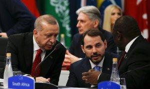 Cumhurbaşkanı Erdoğan, Güney Afrika Cumhurbaşkanı ile görüştü