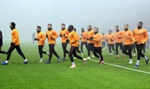 taraftarı önünde Beşiktaş hazırlıklarını tamamladı