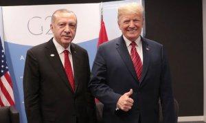 Erdoğan Trump'la bir araya geldi