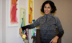 Ev kadını Zeynep Balkan şampiyonu
