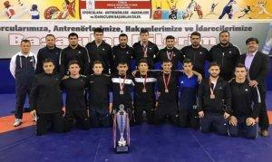 Kahramanmaraş Güreş Takımı Yarı Finallerde