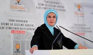 Emine Erdoğan: Kadınlarımız yerel yönetimlerde söz sahibi olmalı
