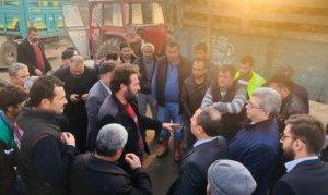 MHP Kahramanmaraş Milletvekili Sefer Aycan, Şeker pancarı çiftçisini dinledi