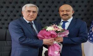 Sosyal Bilimler Meslek Yüksekokulu Müdürlüğüne Doç. Dr. Ahmet Öz Atandı
