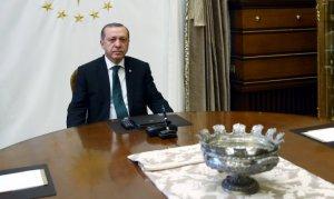 Erdoğan, Vakıfbank Kadın Voleybol Takımı'nı kutladı