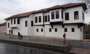 Erkoç, Nuri Pakdil Kültür Kampüsü'nde incelemelerde bulundu