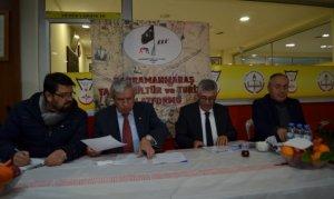 Kahramanmaraş TK ve Turizm Platformu genel kurulu yapıldı