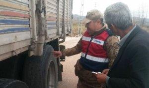 Jandarma, Andırın'da Trafik denetimlerini sıklaştırdı