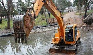 Elbistan ilçesindeki Ceyhan Nehri atıklarından kurtuluyor