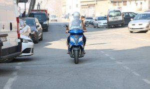 Kahramanmaraş'ta bir garip olay! Çalınan motosikletinin cezasını ödüyor