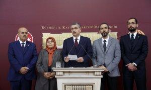 Kahramanmaraş Milletvekilleri TBMM'de Basın Açıklaması Yaptı