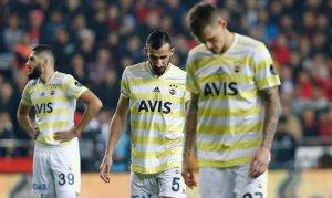 15 yılın en kötü galibiyet yüzdesi Fenerbahçe