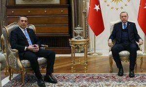 Cumhurbaşkanı Erdoğan ile Ali Koç'u kabul etti