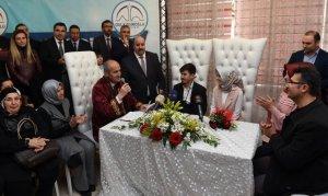 Kahramanmaraş'ta 2018'inci Çift Dünya Evine Girdi