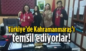 Türkiye'de Kahramanmaraş'ı temsil ediyorlar!