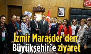 İzmir Maraşder'den Büyükşehir'e ziyaret