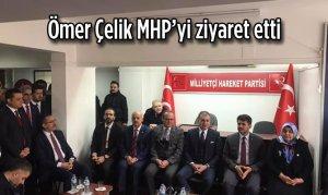 Ömer Çelik MHP'yi ziyaret etti