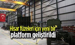 Hisar füzeleri için yeni bir platform geliştirildi