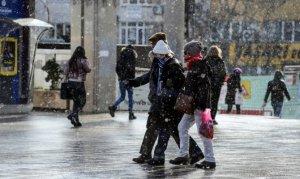 Megakent'e kar geliyor