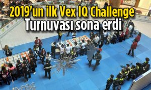 2019'un ilk Vex IQ Challenge Turnuvası sona erdi