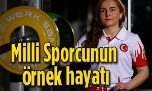 Milli Sporcunun örnek hayatı