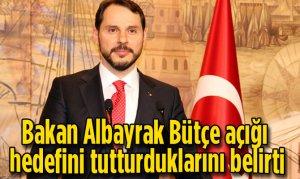 Bakan Albayrak Bütçe açığı hedefini tutturduklarını belirti