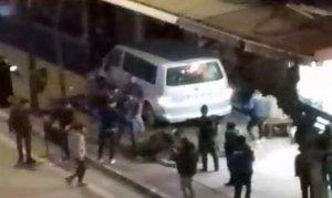 Polise vurmaya çalışan alkollü sürücü vatandaşın elinden zor alındı