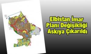 Elbistan İmar Planı Değişikliği Askıya Çıkarıldı