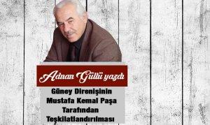 Güney Direnişinin Mustafa Kemal Paşa Tarafından Teşkilatlandırılması