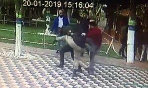 Sokak ortasında hem taciz eden hem darp eden şüpheli yakalandı