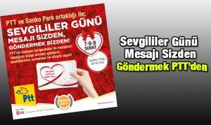 Sevgililer Günü Mesajı Sizden, Göndermek PTT'den