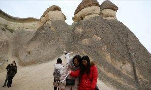 Çinliler Kapadokya'ya akın ediyor
