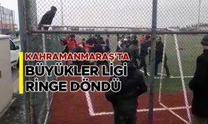 Kahramanmaraş'ta Büyükler Ligi ringe döndü