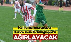 Kahramanmaraşspor, Darıca Gençlerbirliğispor'u ağırlayacak