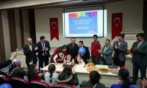 Engelli Çocuklara Unutulmaz Doğum Günü Partisi Düzenledi