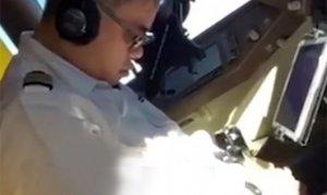Bu kadarı pes dedirtti! Pilot uçuş sırasında uyuyakaldı