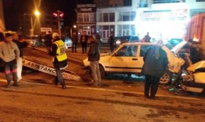 Alkollü sürücü zincirleme kazaya sebep oldu