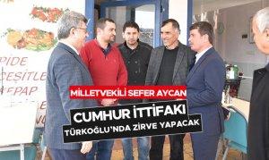 Cumhur İttifakı Türkoğlu'nda Zirve Yapacak